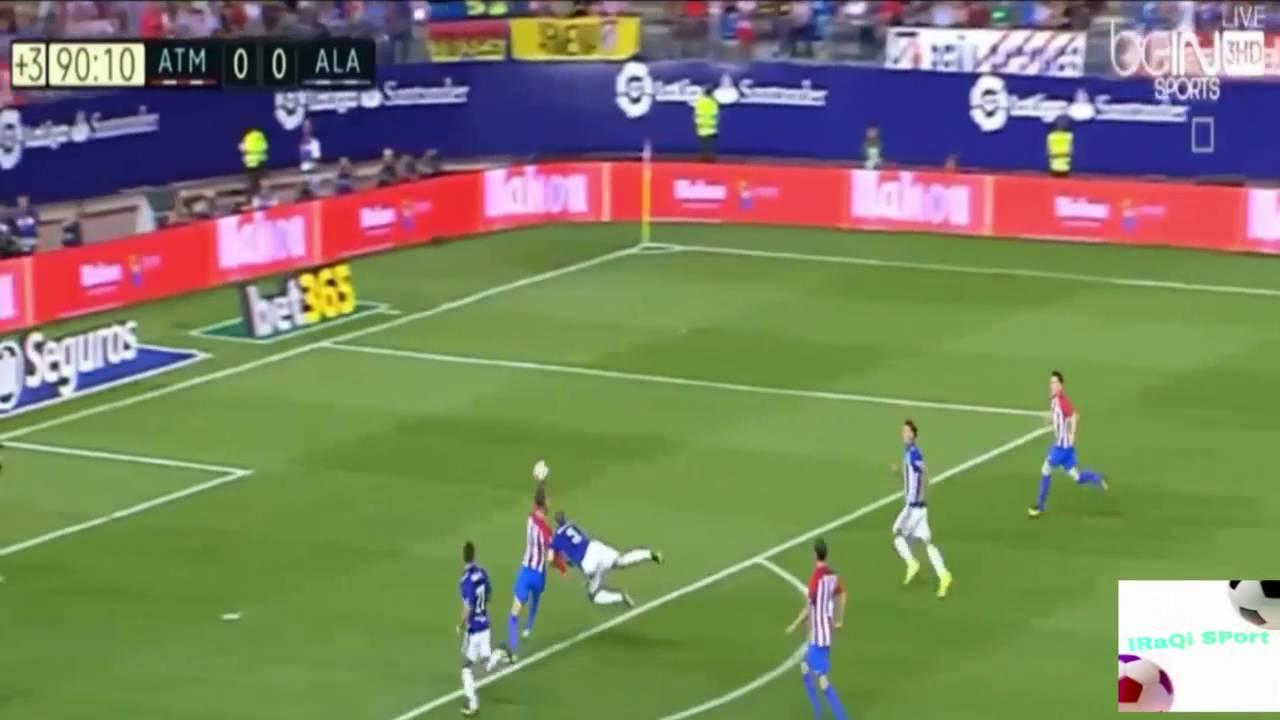 الدوري الاسباني: اتليتيكو مدريد يتواضع ويكتفي بالتعادل مع الافيس