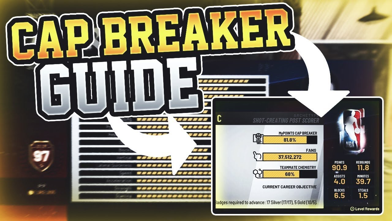 every CAP for every OVERALL on POST SCORERS in NBA 2K19! ULTIMATE CAP  BREAKER guide
