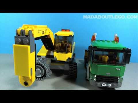 LEGO MINING EXCAVATOR TRANSPORT 4203