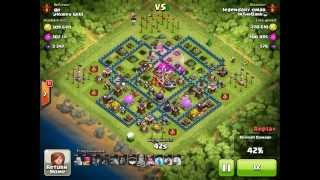Clash of Clans - Champion League gameplay over 4000 trophies