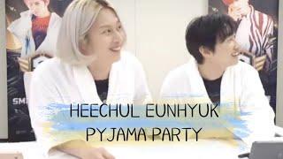 [FULL] 200223 Super Junior Eunhyuk & Heechul Pyjama Live