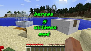 Archimedes Ships Mod para Minecraft 1.7.10 EN ESPAÑOL