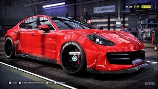 Need for Speed Heat - Porsche Panamera Turbo 2017 - Customize   Tuning Car (PC HD) [1080p60FPS]