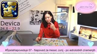 #ŠpelaNapoveduje 07 - Napoved za mesec Junij 2019 - po astroloških znamenjih