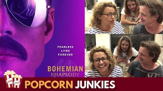 Bohemian Rhapsody Official Trailer #2 - Nadia Sawalha & Family Reaction & Review
