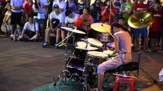 2014/09/13 爵士鼓 陳曼青(VelaBlue)_Linkin Park - New Divide