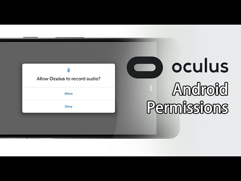 How to remove Oculus VR Android permissions.