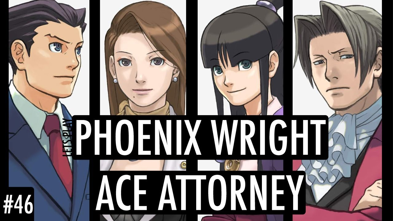 Lets Play Phoenix Wright Ace Attorney 46 Robert Hammond Youtube