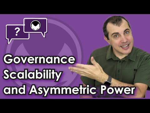Ethereum Q&A: Governance scalability and asymmetric power