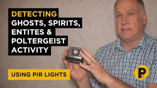 Detecting Spirits on a Ghost Adventures using PIR lights with sensors - Paranormal Investigations