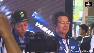 2014 Rider KiKOMi saw Valentino Rossi at SM Sta Rosa Laguna Philippines