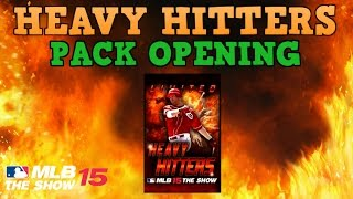 HEAVY HITTERS PACK OPENING! MLB 15 The Show Diamond Dynasty!