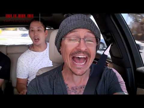 "Carpool Karaoke: i Linkin Park cantano ""Under The Bridge"" dei Red Hot Chili Pepppers"
