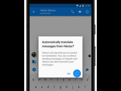 Facebook Messenger EnglishSpanish Translation Demo - TechCrunch