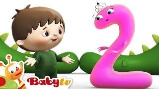 Charlie y los Números - Charlie conoce Número  2 | BabyTV (Español)
