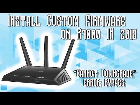 TUTORIAL] Install Custom Firmware On The Netgear R7000 [2019