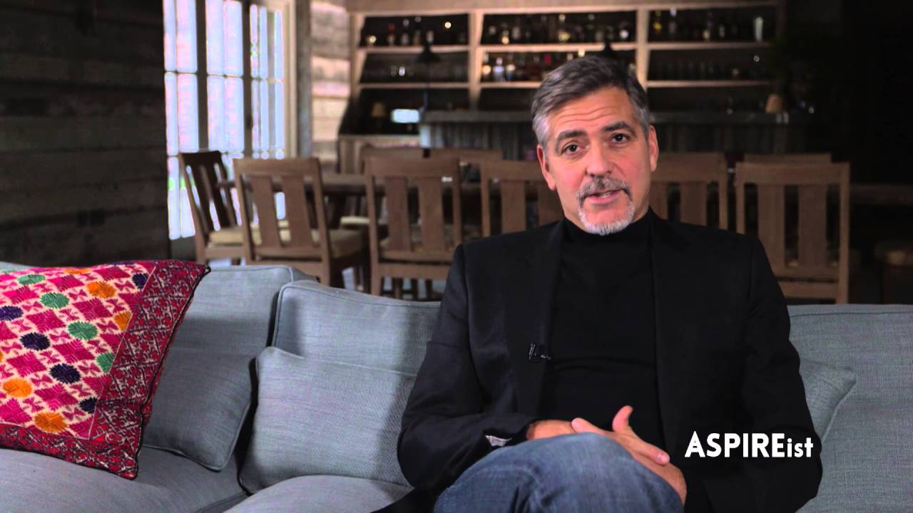 George Clooney: Behind The Scenes with ASPIREist