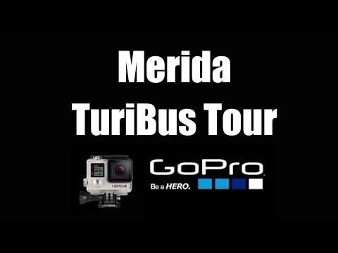Merida TuriBus Tour, Yucatan, Mexico | GoPro 4 Silver | Virtual Trip