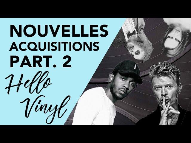 Achats vinyles / nouveautés Partie 2 - Hello vinyl