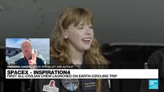 SpaceX successfully sends first all-civilian crew into Earth orbit • FRANCE 24 English