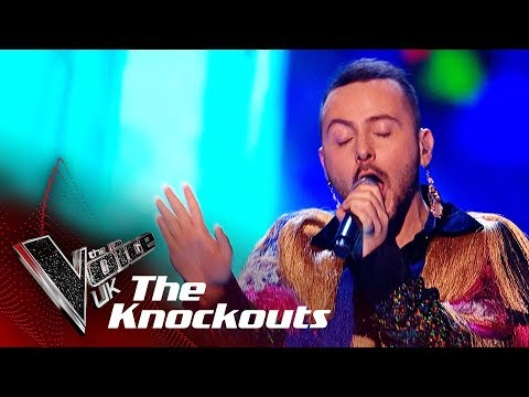 Kalon Rae Performs 'California Dreamin': The Knockouts  The Voice UK 2018