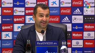 Rueda de prensa de Diego Martínez tras el Real Oviedo vs Granada CF 1 1