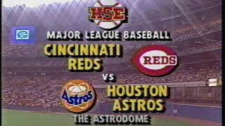 1989 MLB: Reds at Astros 8/11/1989
