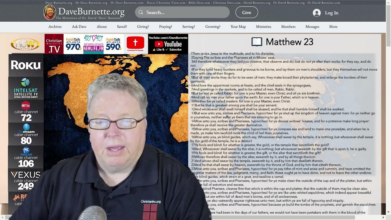 Matthew 24 ✒️ Jesus is Coming Again
