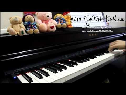 aokihagane Insert song (蒼き鋼のアルペジオ挿入歌) 『Silver Sky』Piano  arr.EgOistHiuMan HQ