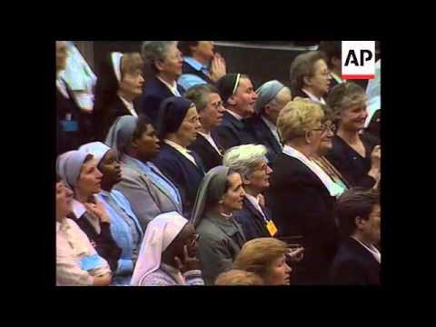 Vatican - Pope John Paul's 75th Birthday