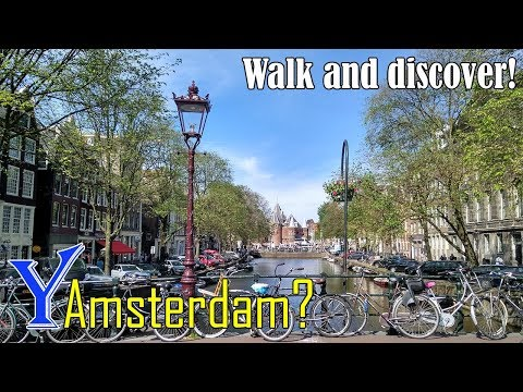Why travel to Amsterdam? Walking in Amsterdam, Netherlands