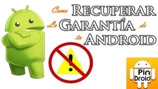 Recuperar Garantía en Android con Triangle Away. Resetear Contador Binario / de Flasheos.