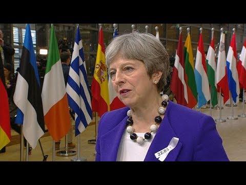 May warns EU of 'pattern of Russian aggression'