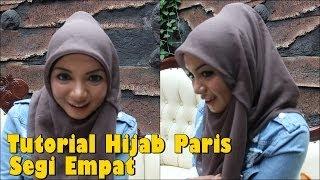 Tutorial Hijab Paris Segi Empat Modern yang Simple untuk Sehari hari
