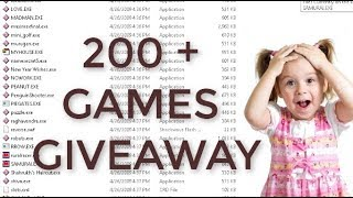 200 Plus Flash Games Giveaway ! Free ! New 2019