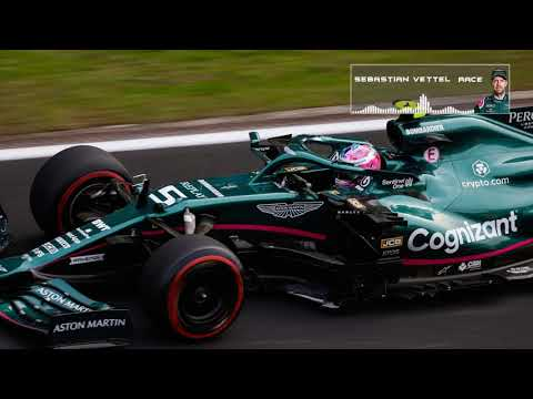 VETTEL ALL TEAM RADIOS DURING HIS STINT WITH SLICKS   2021 Turkish GP