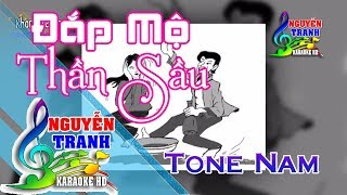 [Karaoke nhạc sống] Đắp Mộ Thần Sầu - Tone Nam (Nhạc Chế)