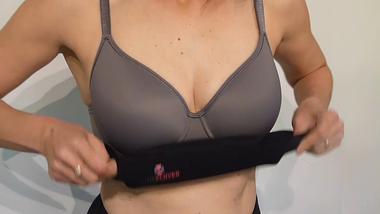 4c6cddf7d63 How to wear your PINKCLOVER BREASTBAND - YouTube