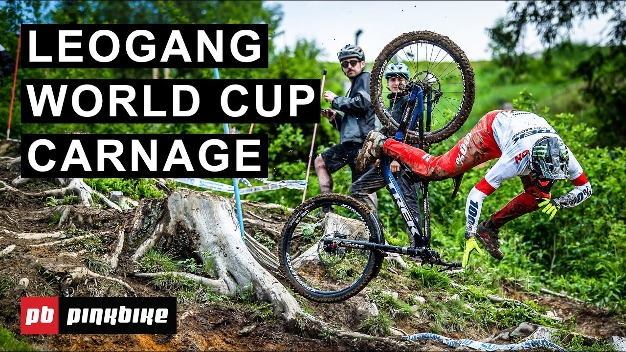 Leogang World Cup DH 2021 Practice Insanity - Up To Speed with Ben Cathro