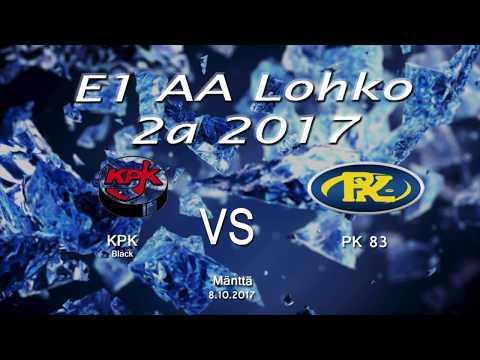 E1 KPK VS PK83  8.10.2017