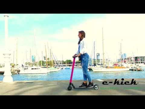 E-kick Electric Scooter / E-scooter designed in Barcelona