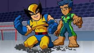 Отряд супергероев - Сверх-людям свойственно ошибаться - Сезон 1, Серия 2   Marvel