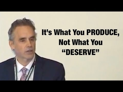 "Jordan Peterson on Free Market: You're rewarded for what you PRODUCE, not what you ""DESERVE"""
