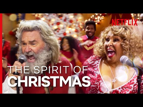 The Spirit of Christmas (Full Song) - Kurt Russell, Darlene Love | The Christmas Chronicles 2