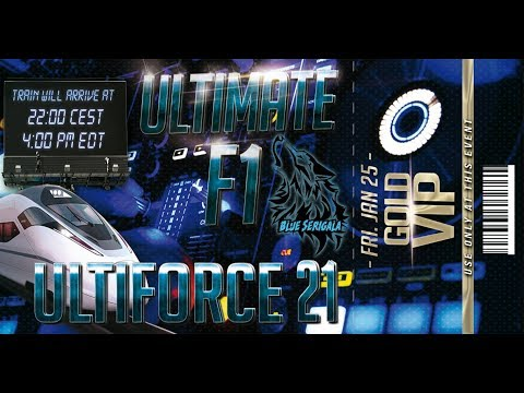 Trance session UltiForce 21 presented by Ultimate F1/ Blue Serigala