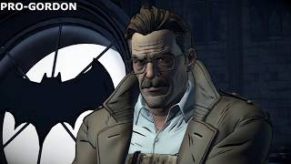 Batman The Enemy Within Episode 3 - Gordon dislikes/likes Batman
