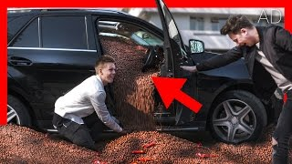 EPIC MALTESERS CAR PRANK