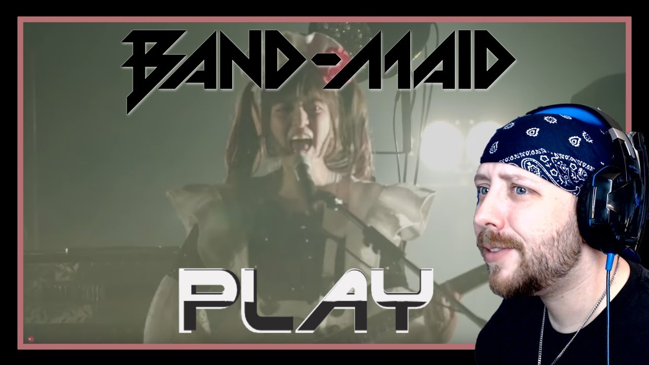 BAND-MAID / Play (Live) Reaction | Metal Musician Reacts