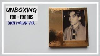 UNBOXING: EXO - EXODUS (CHEN) korean ver. // MLSS