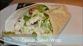 Ceasar Salad Wrap